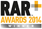 RAR Awards 2014. Winner.