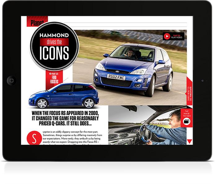 BBC TopGear Magazine iPad Edition