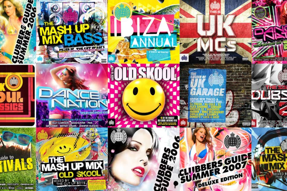 Ministry of sound album artwork