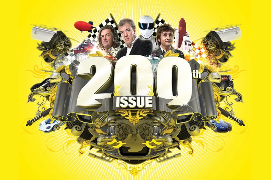 Top Gear 200th issue illustration