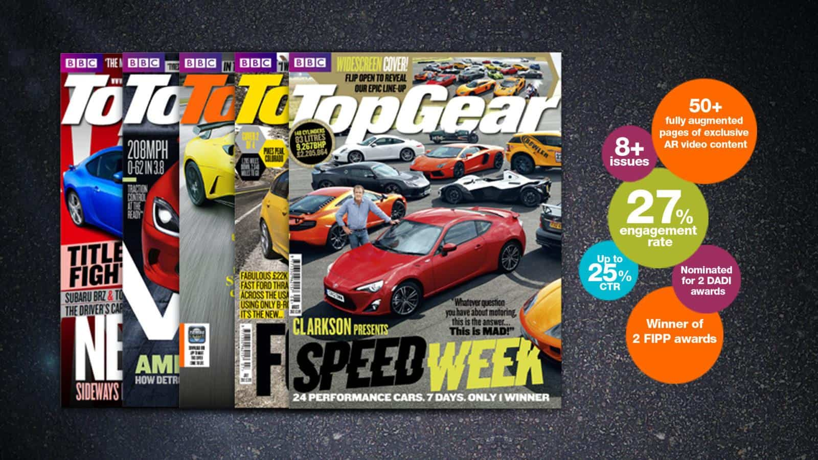 Top Gear AR magazine
