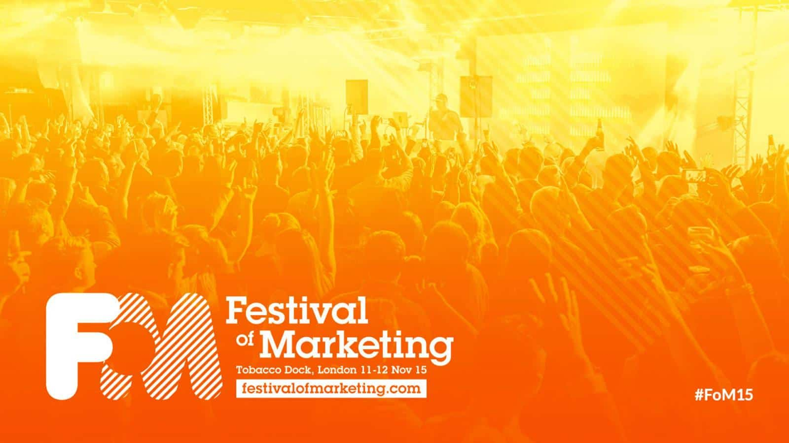 Festival of Marketing brand creation