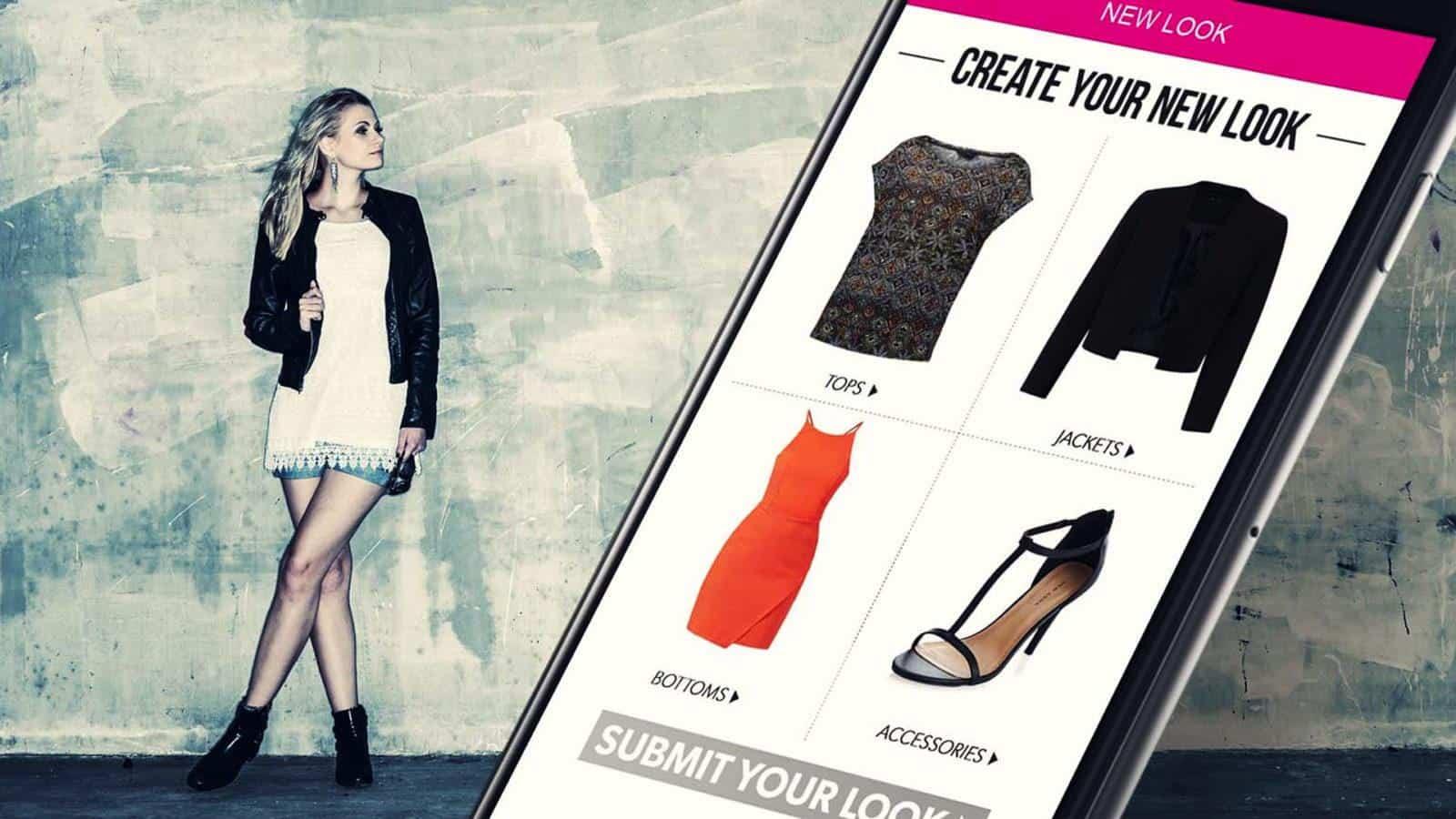 New Look app