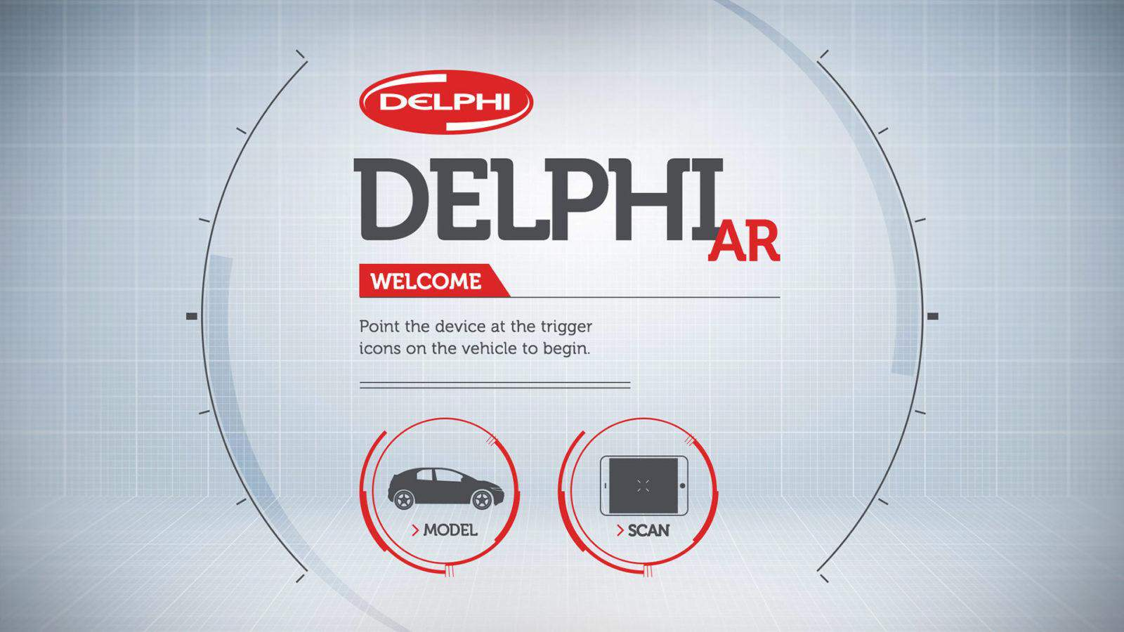 Delphi Augmented Reality app
