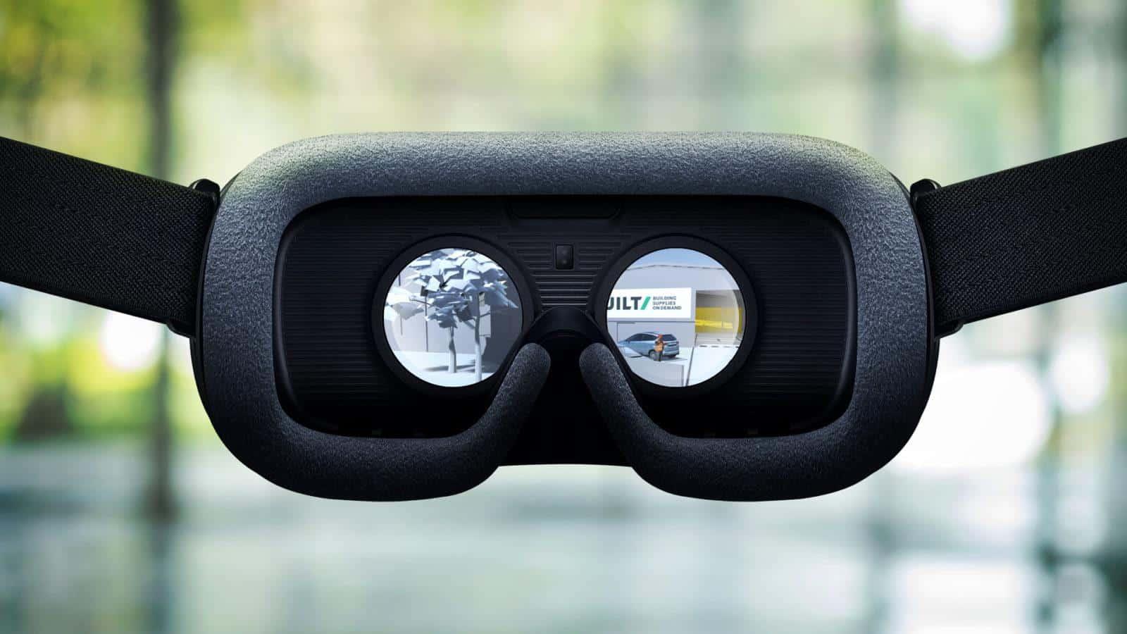 Built VR goggles