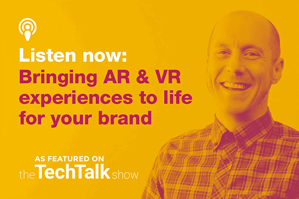 Let's talk AR and VR solutions for brands