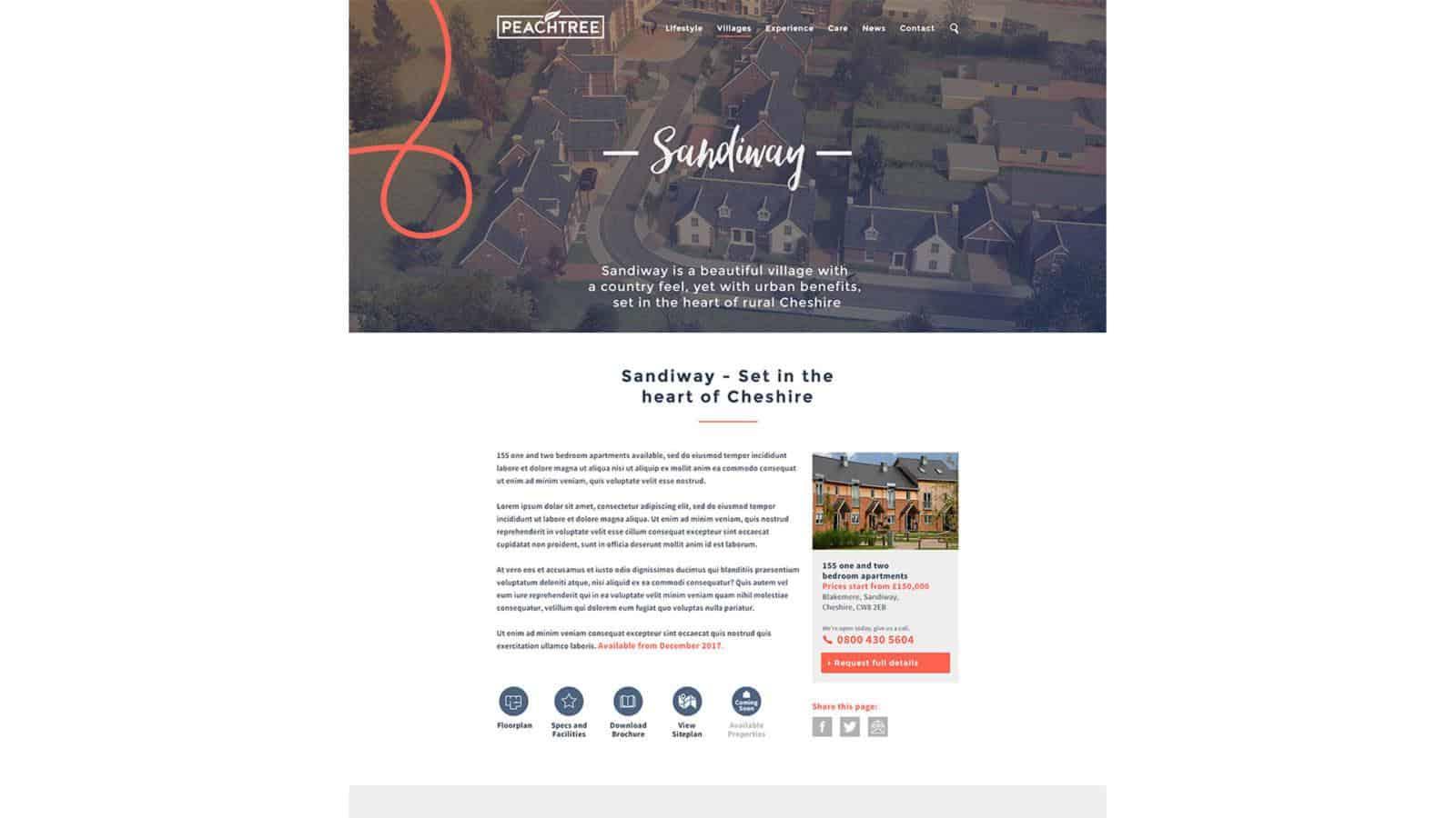 Peachtree website