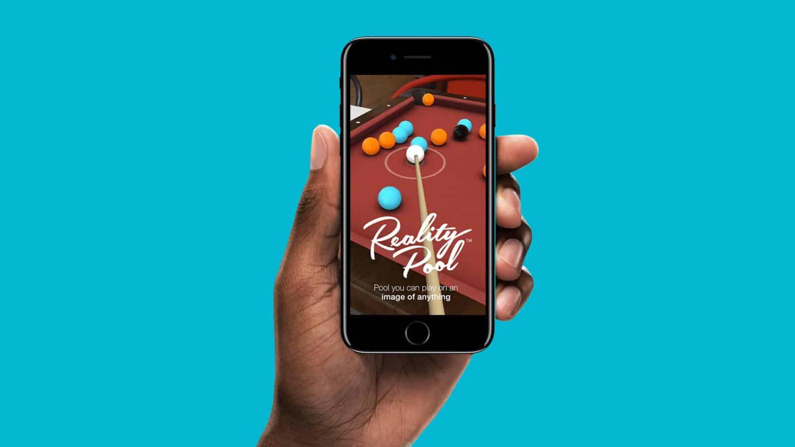 Reality Pool app