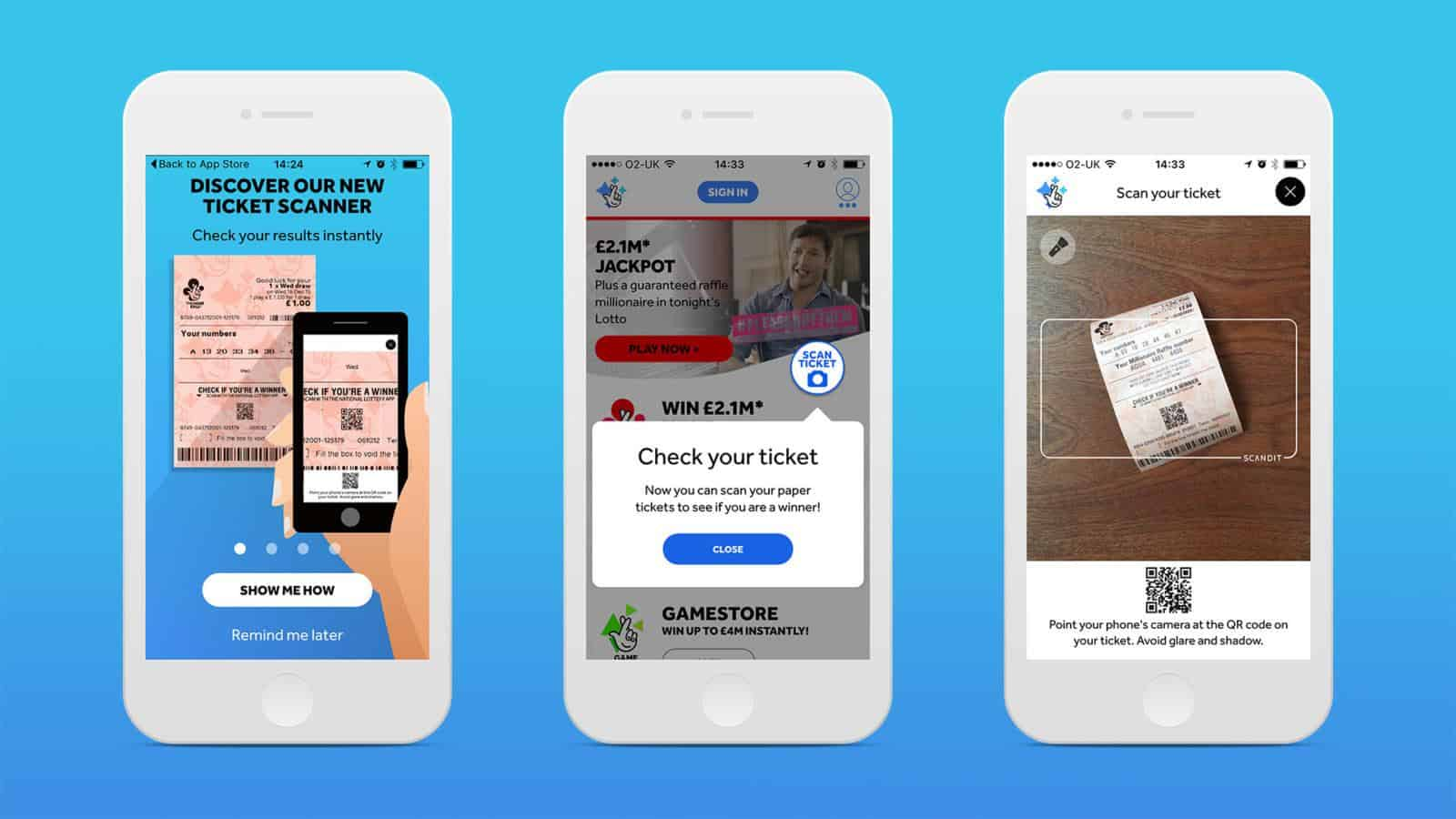 The National Lottery App for iOS and Android | Engine Creative