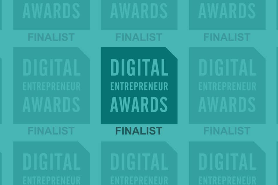 Digital Entrepreneur Awards finalist
