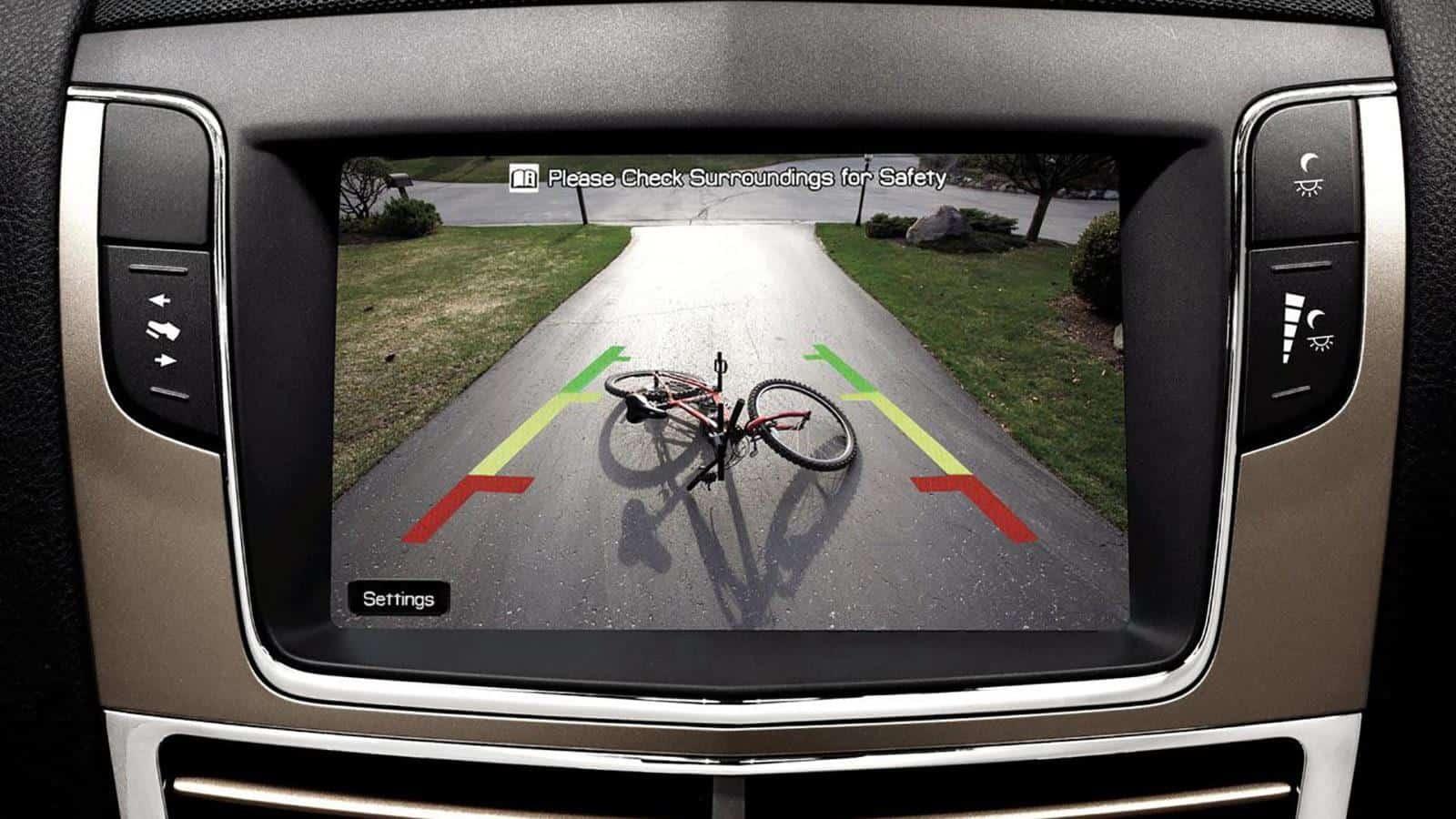 AR UI - Rear view AR camera