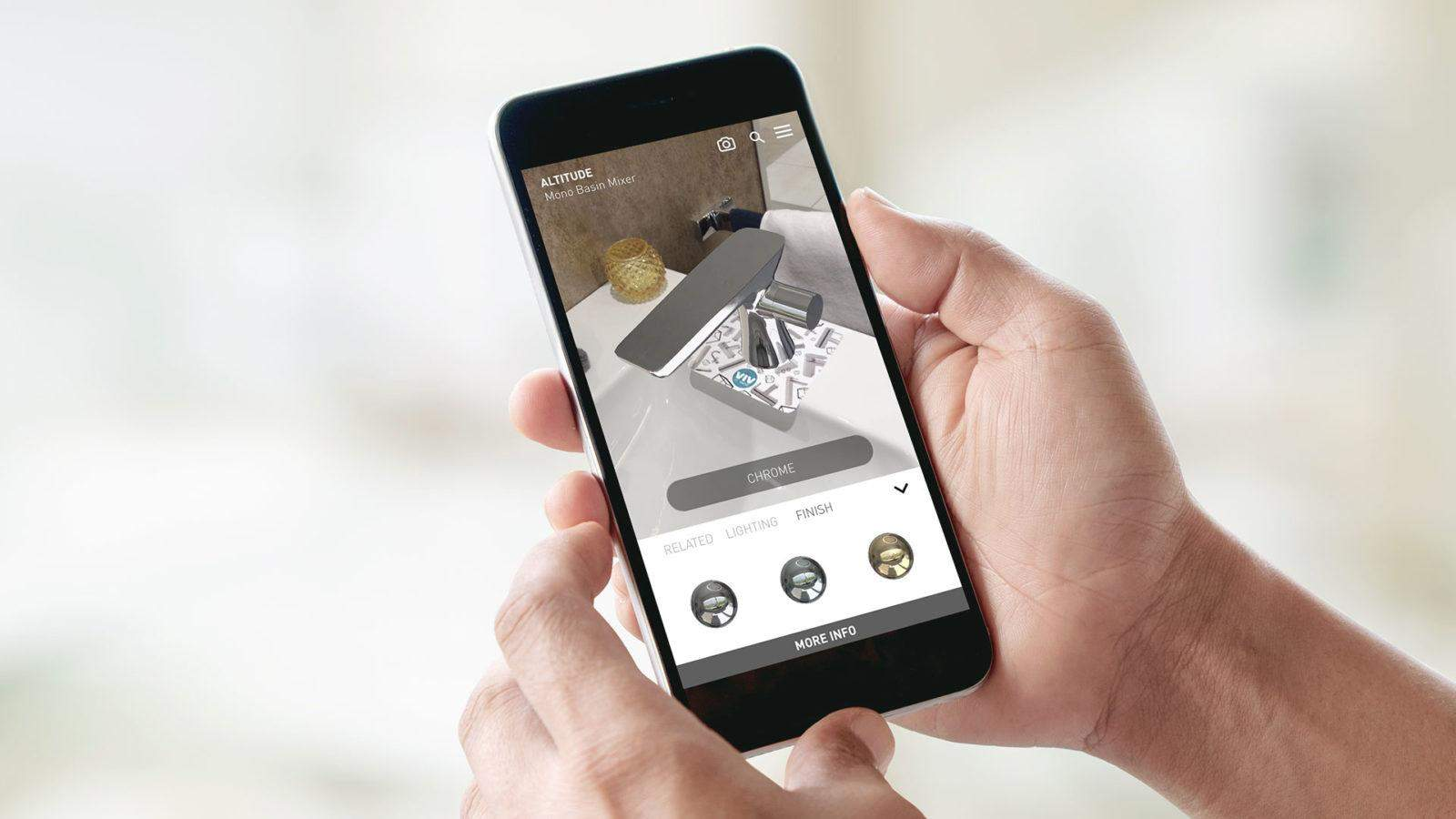 AR catalogue app 2