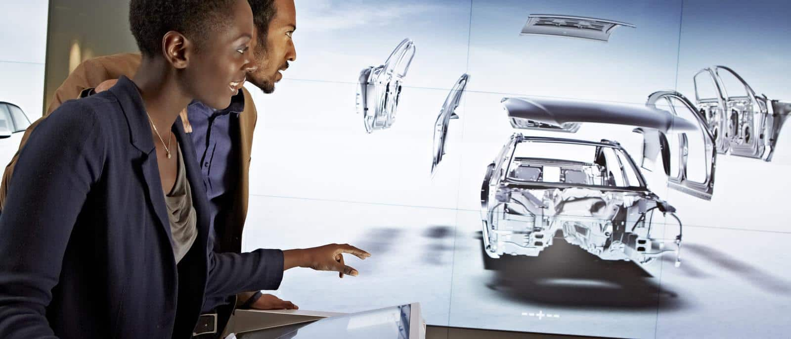 Audi city augmented reality automotive example