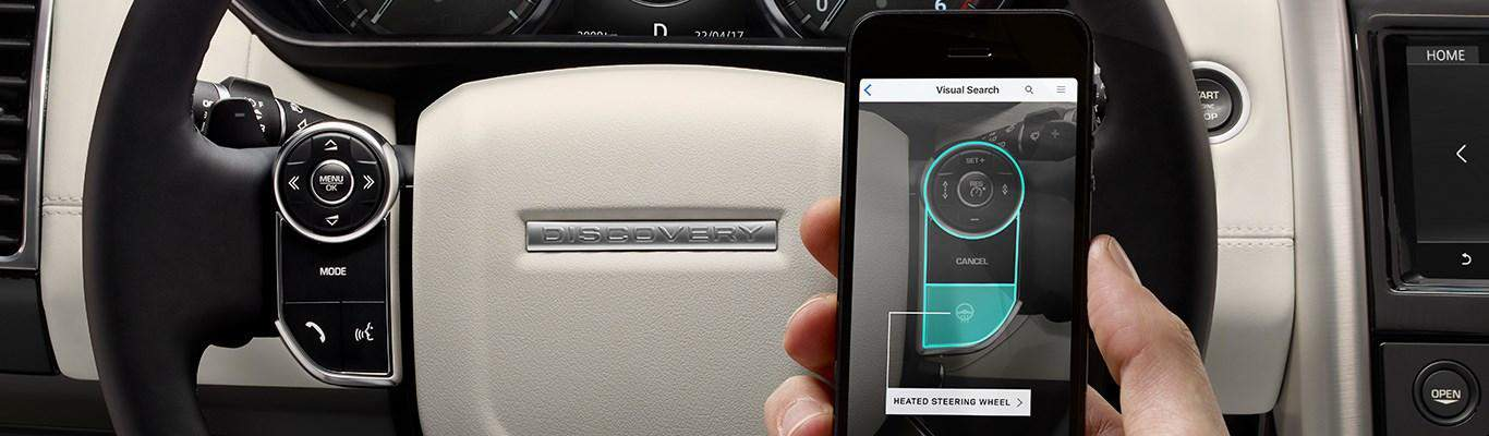 Land Rover Guide app - augmented reality automotive