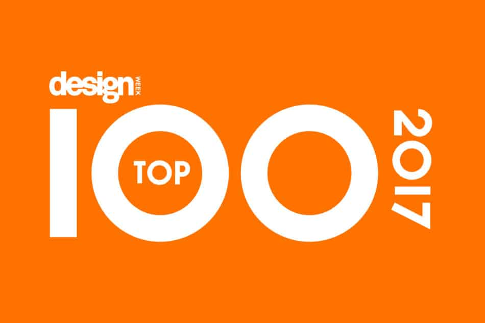 Design Week Top 100 creative agencies