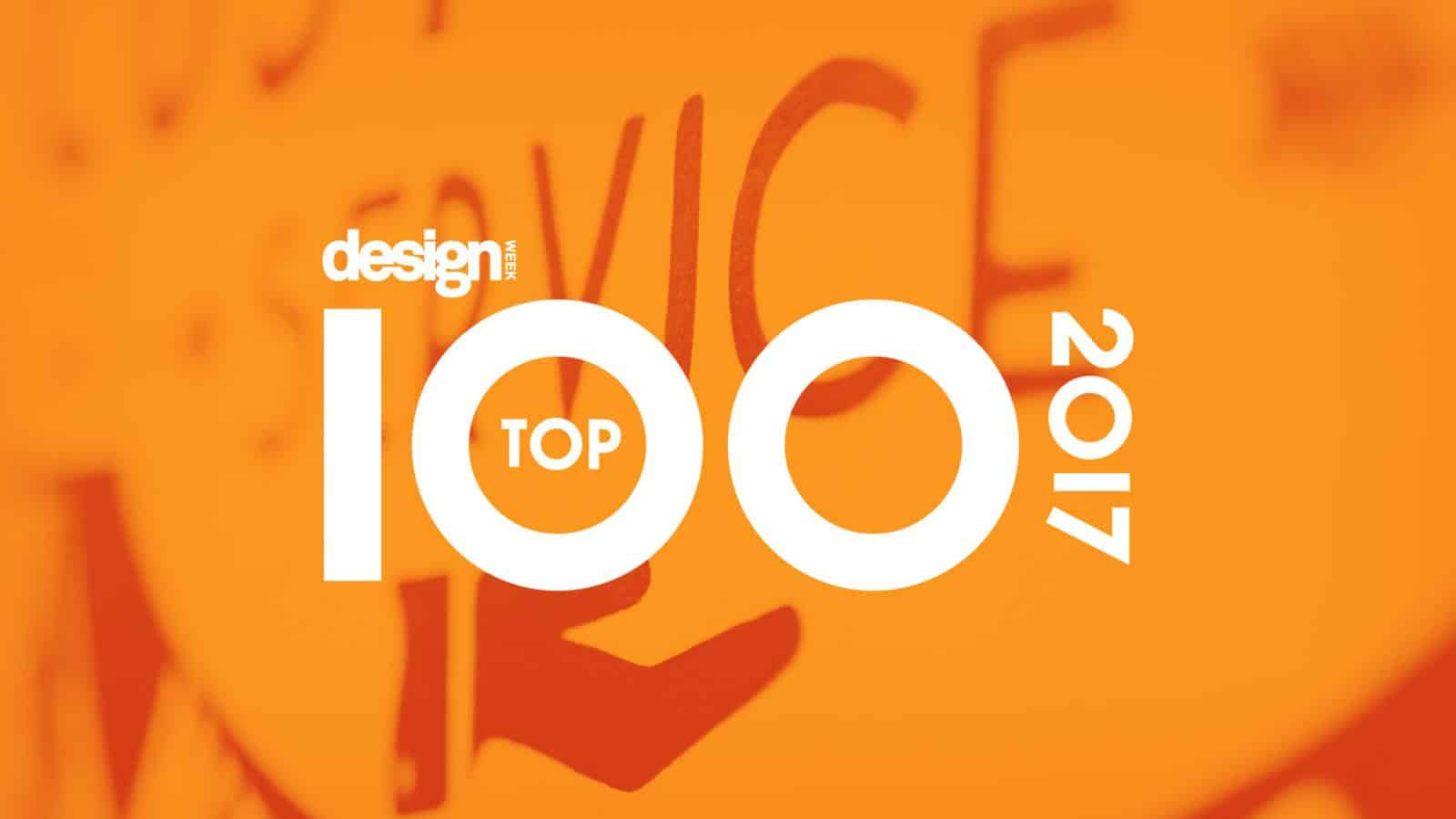 Better brand engagement for global brands leads to Design Week Top 100 recognition