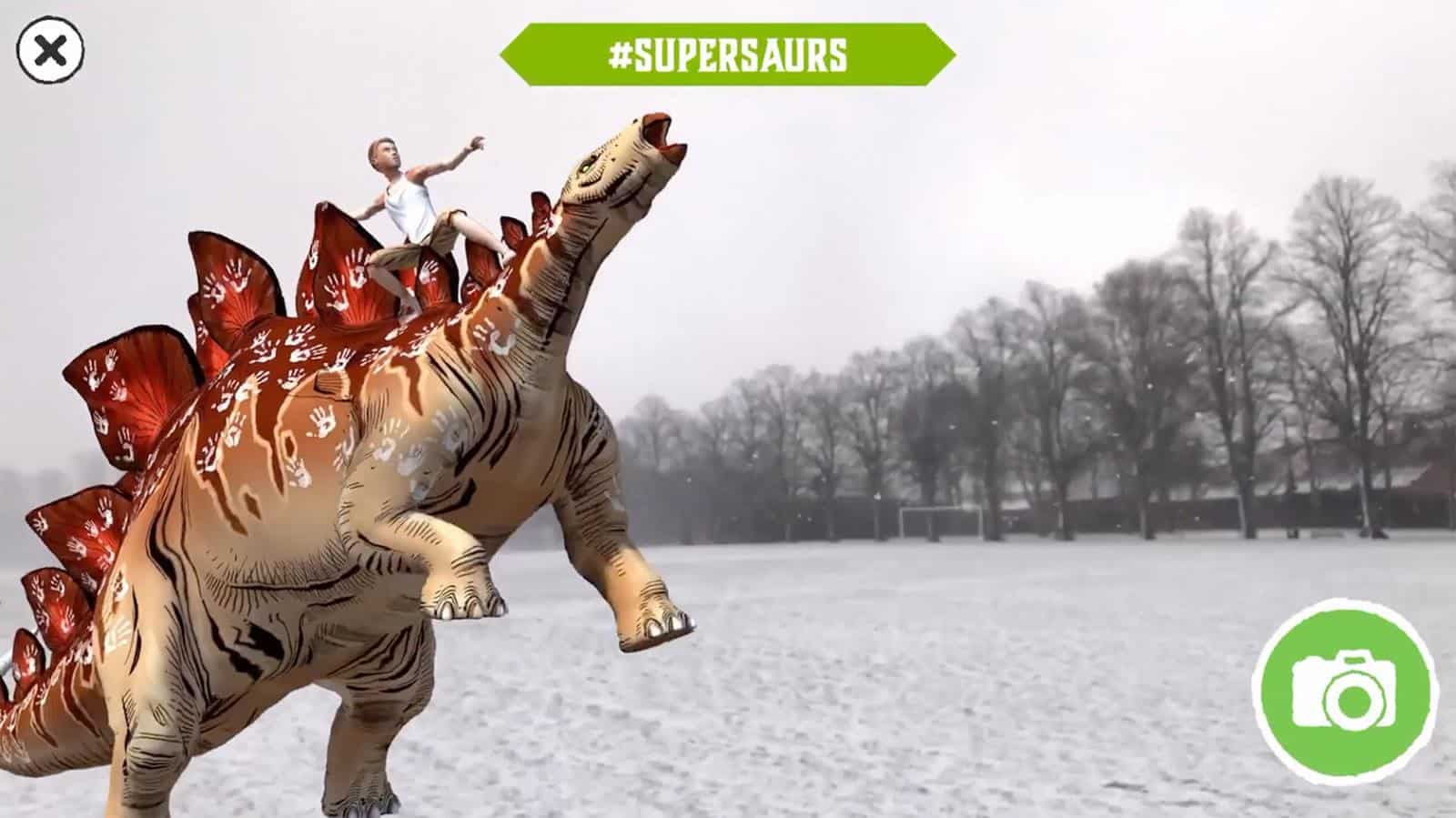 supersaurs 2 augmented reality book