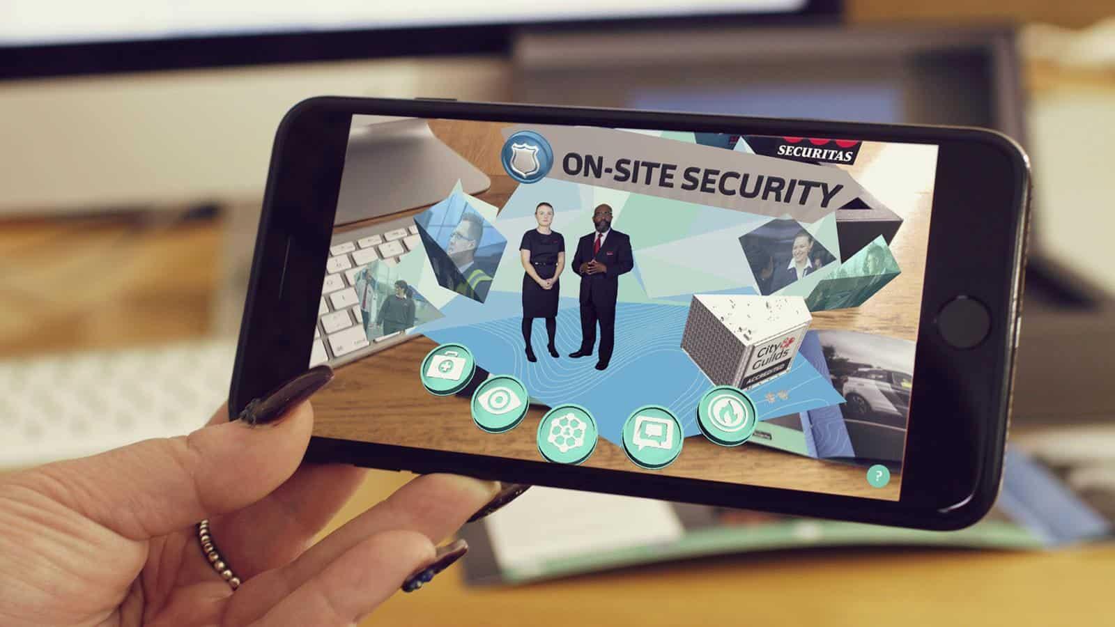 Securitas LEAD Augmented Reality Brochure 1