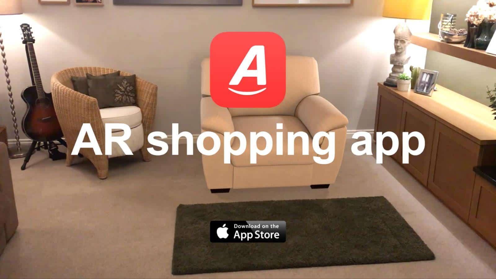 Argos augmented reality shopping app 2