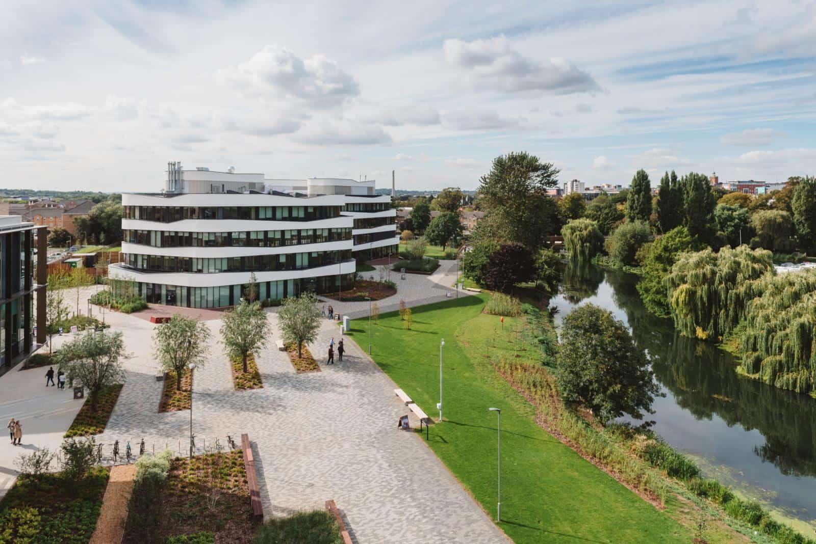 Digital innovation Northampton - Merged Futures Waterside Campus