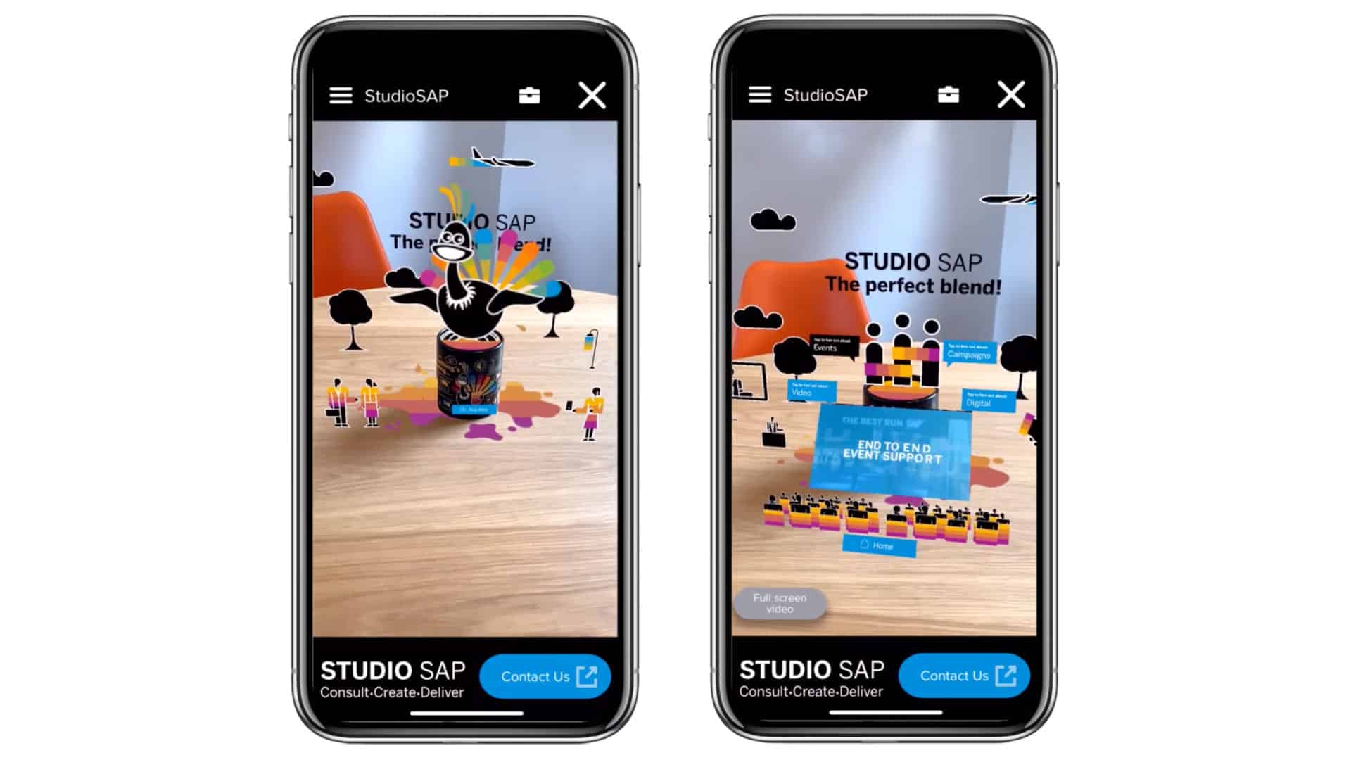 SAP augmented reality direct mail 3